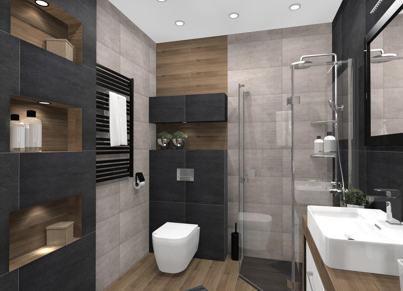 Aranżacja Małej łazienki Dominopl